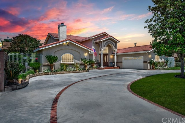 One of Horse Yorba Linda Homes for Sale at 19041  Country Club Lane