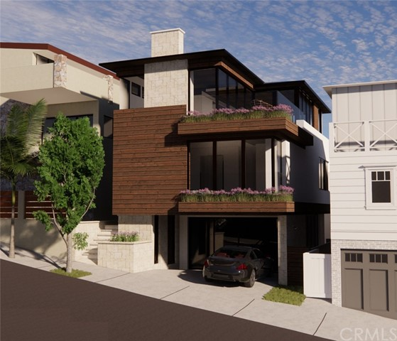 Rendering of Permitted New Home