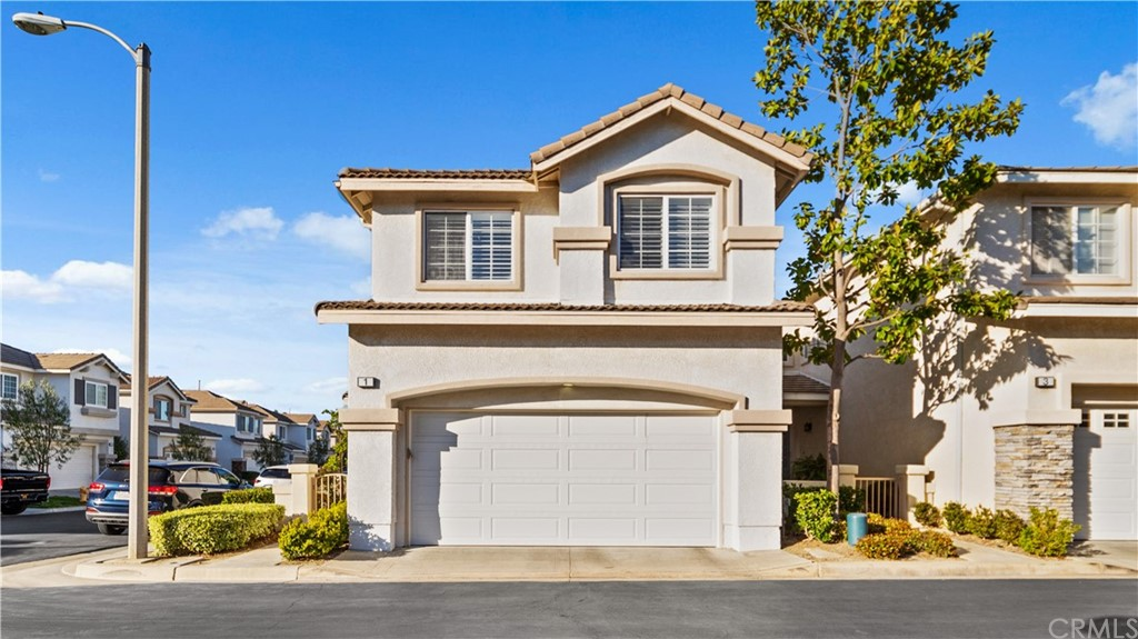 "Welcome to the highly desirable gated ""Victoria"" Community. This beautiful corner-lot home is move-in ready. Upon entering the Living Room, you can appreciate natural sunlight and airy space due to high ceilings and the many windows which allow it, hardwood flooring and cozy fireplace, and a sliding door leading to the large, fenced wrap-around patio. The Dining Area and Breakfast Bar flow into the kitchen, which boasts beautiful granite countertops. On the 2nd floor are 3 bedrooms, including a Master Bedroom with a walk-in closet, Master Bath with dual sinks, tub, and shower. Another full bath serves the 2 front bedrooms. An inside laundry closet with a full-size hookup is conveniently located upstairs. The Victoria Community has a great location with both award-winning Elementary and Middle Schools within walking distance. A short drive to the Aliso Viejo Town Center provides all the shopping and dining establishments one could wish for. Definitely a great home in a great location! (More pictures to come)."