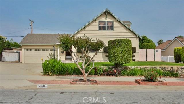650 N Stephora Avenue, Covina, CA 91724