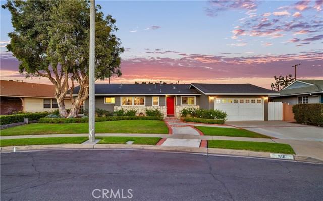 516 N North Redwood Drive, Anaheim, CA 92806