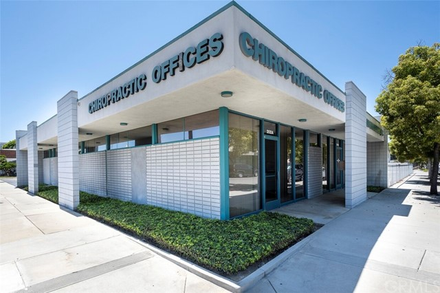 Stand alone corner building with exceptional visibility in highly desired downtown Fullerton.  Approximately 3130 sq ft which can be made into two units, as there are two separate entrances and meters.  There is a total of 4 bathrooms, private offices/rooms, reception areas, administrative, storage, changing rooms and a kitchen.  There is a private adjacent parking lot with 10 spaces as well as curbside parking.  Unit entrances face Amerige and are identified as 202A and 202B when driving by the property.  Patrons will enjoy easy access to the 91 freeway and the bustling energetic vibe of Downtown Fullerton!