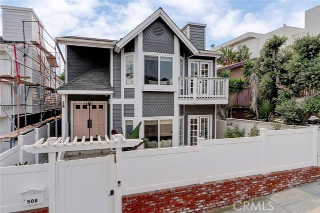 508 Rosecrans Avenue, Manhattan Beach, California 90266, 4 Bedrooms Bedrooms, ,3 BathroomsBathrooms,For Sale,Rosecrans,SB20193672