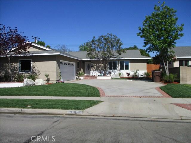 218 N Siesta, Anaheim, CA 92801