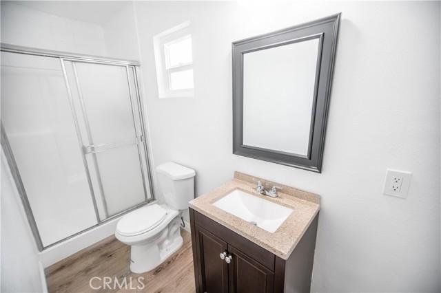Restroom for studio/3rd bedroom