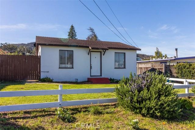 457 Manzanita Drive, Los Osos, CA 93402