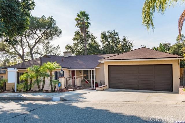 1853 Las Flores Drive, Glendale, CA 91207