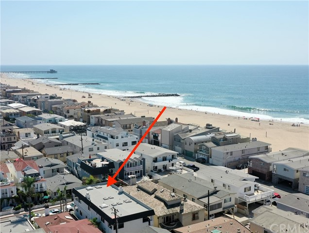 5 Bedroom, 3 Bath, 3 story, with an owners unit with private access. This beautiful home is located just 4 houses to the sand and finger jetties at Newport Beach, this beach has the best break on the California Coast. Custom slab quartz counter tops, updated double pain windows and sliding doors, tile floors. This home features a dining room, living room with a fireplace, skylights, tile floors, 4 Decks, 2 Patios, garage, carport, apron parking, hydronic forced air heating and more. Once upon a time there was roof access to the great big sundeck like roof, but the stairs were removed some years ago to keep the Tenants off the roof. Recent changes regarding ADU (2nd units) may qualify this home for a permit on the private owners residence on the ground level (okay, there's a large living room, a kitchenette, a bathroom and the garage is currently set up as a bedroom on the ground level that has never been fully configured in this home). If you can get a permit for an ADU and this set up could be just like a Duplex with a 4 bedroom 2 bath unit and a 1 bedroom 1 bath unit. Ask for a link to the City of Newport Beach Requirements for this. THE NEAR IDENTICAL HOME NEXT DOOR IS LISTED FOR SALE AS WELL at 119 40th street