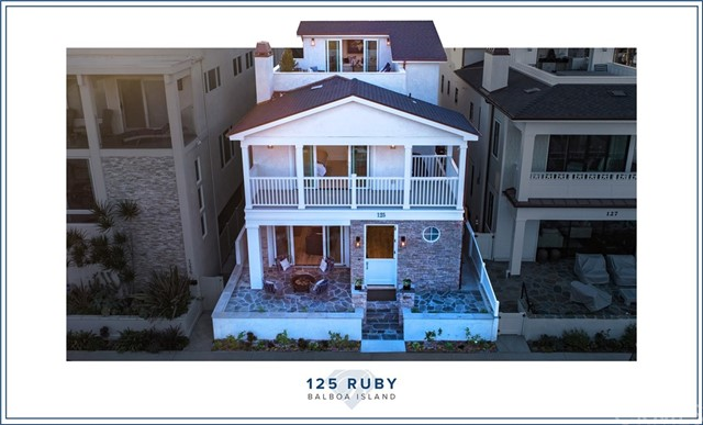 125 Ruby Avenue, Newport Beach, CA 92662