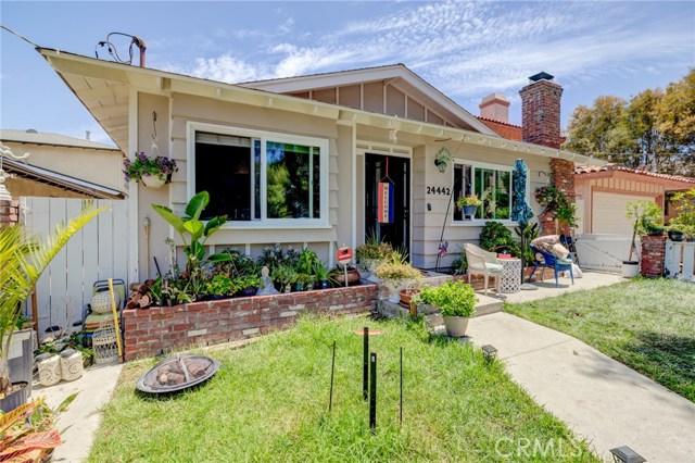 24442 Ward Street, Torrance, California 90505, ,For Sale,Ward,SB21008841