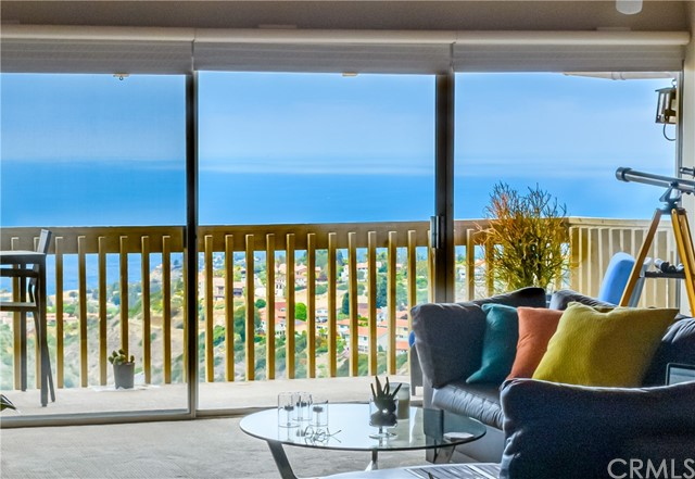 Sea view from inside Living Room