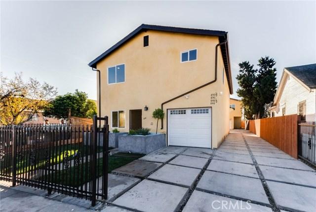 848 W 79th Street, Los Angeles, CA 90044