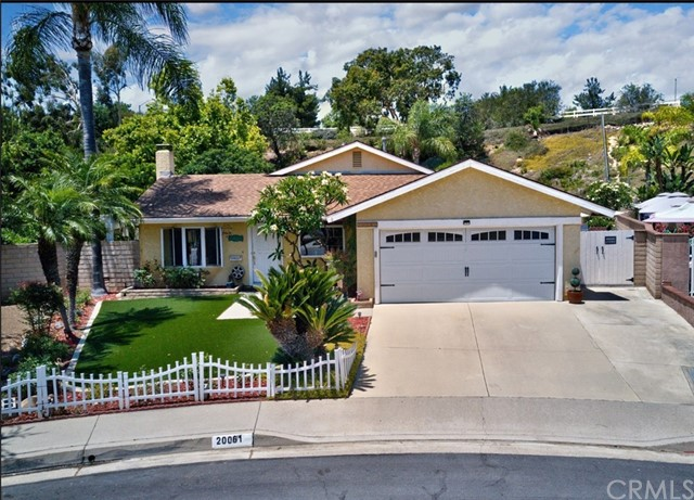 One of Single Story Yorba Linda Homes for Sale at 20061  Avenida Del Norte
