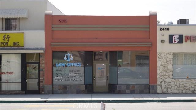 2410 W Valley Boulevard, Alhambra, CA 91803
