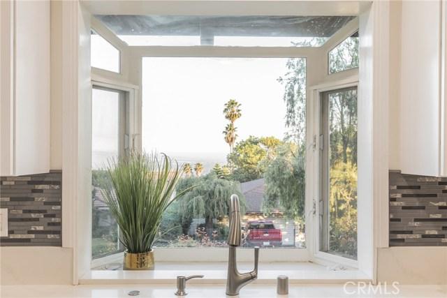 Kitchen window View overlooking Pasadena