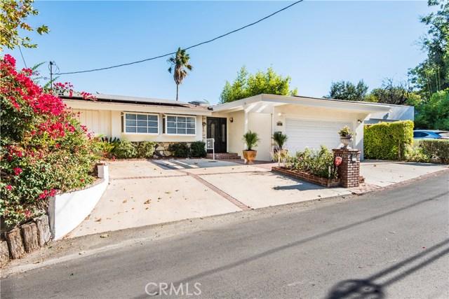 16726 Oak View Drive, Encino, CA 91436