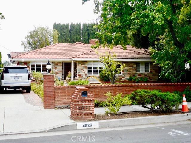 4926 Woodley Avenue, Encino, CA 91436