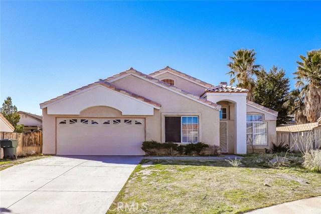 3431 Amber Street, Rosamond, CA 93560