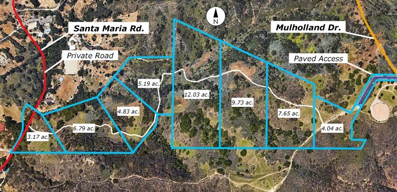 0 Santa Maria & Mulholland, Topanga, CA 90290