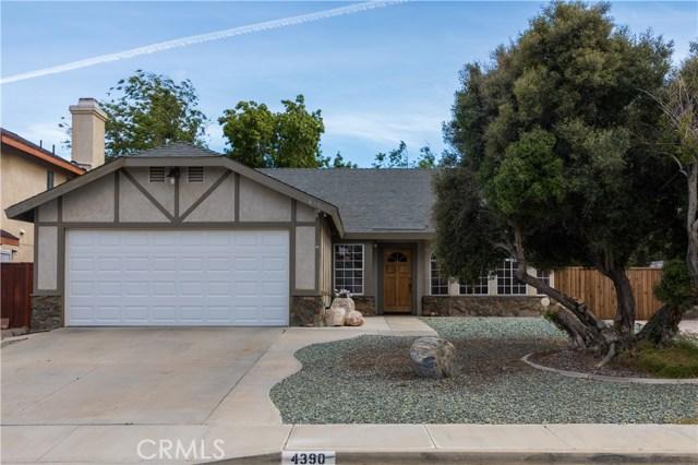 4390 Stetson Avenue, Rosamond, CA 93560