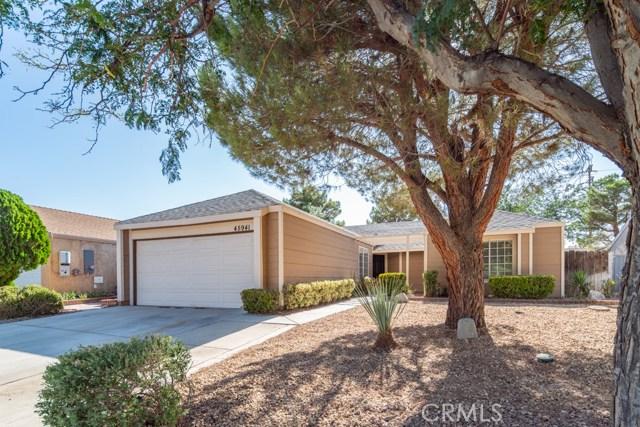 45941 Desert Springs Drive, Lancaster, CA 93534