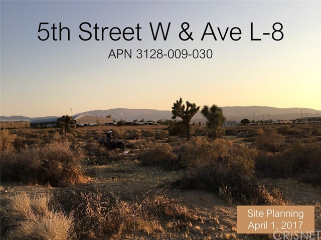 0 Vac/Vic Avenue L8/5th Stw, Lancaster, CA 93534