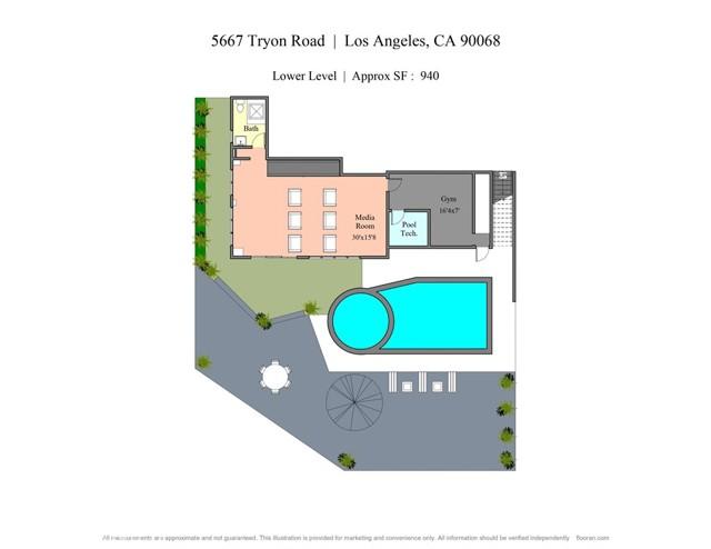 58. 5667 Tryon Road Los Angeles, CA 90068