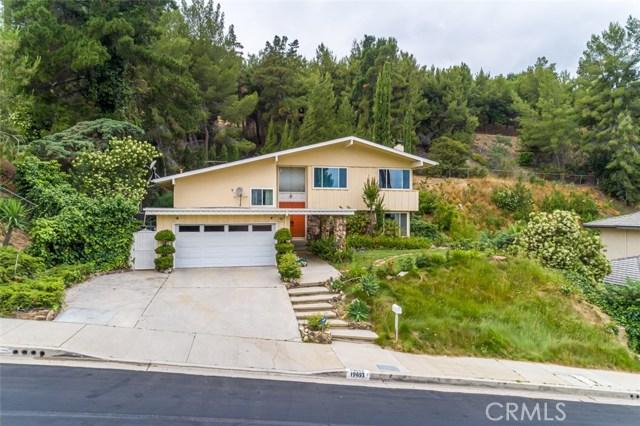 19653 Valdez Drive, Tarzana, CA 91356