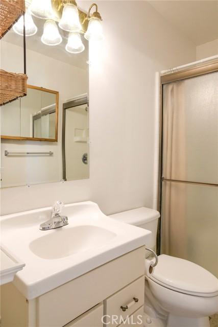 Master bathroom with walk-in shower