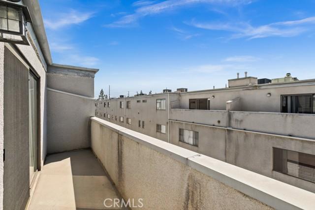 Balcony - East View
