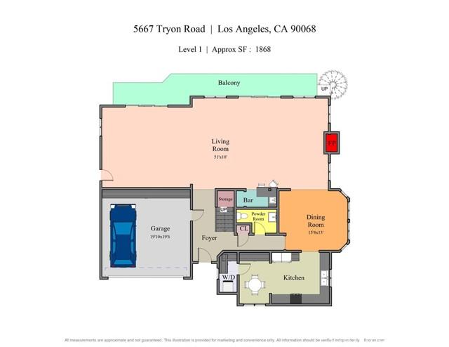 56. 5667 Tryon Road Los Angeles, CA 90068
