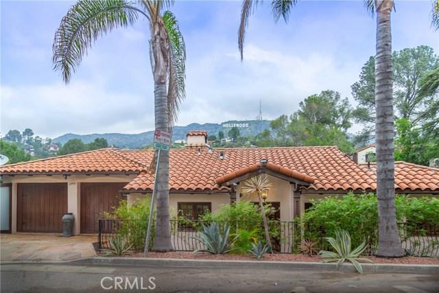 2975 Hollyridge Drive, Hollywood Hills East, CA 90068