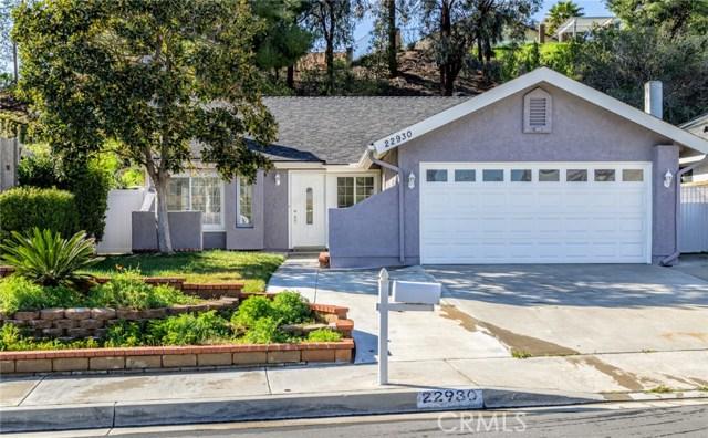 22930 Calvello Drive, Valencia, CA 91354