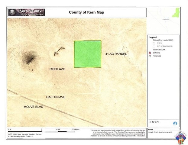 0 Reed Ave, Mojave, CA 93501