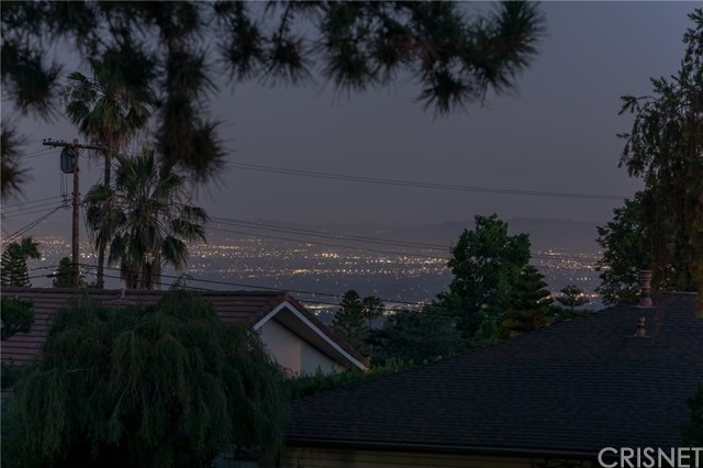 View of Pasadena & downtown L.A