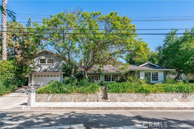 3758 Woodcliff Road, Sherman Oaks, CA 91403