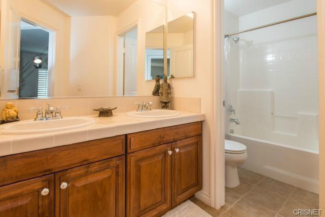 2nd Bath with Dual Sinks