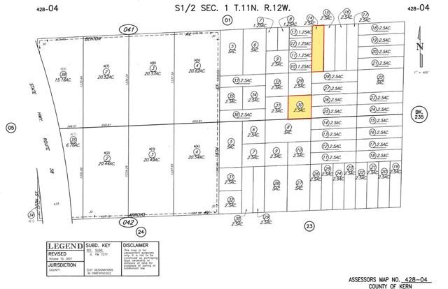 17 E and Benton Avenue, Mojave, CA 93501