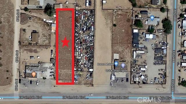 8703 E Vac/Palmdale Bl Pav /Vic 87th Street, Sun Village, CA 93543