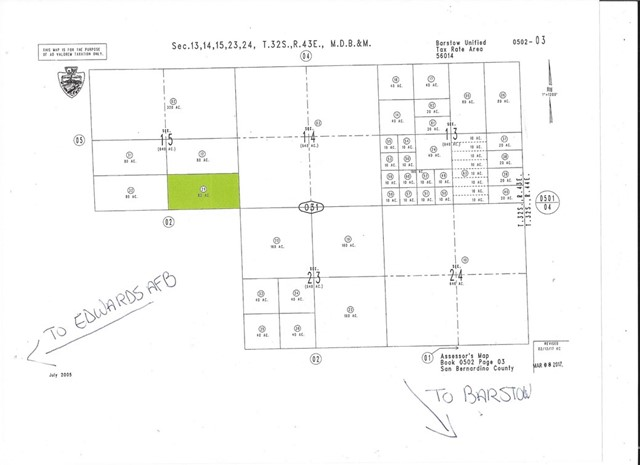 0 Vacant, Barstow, CA 92310