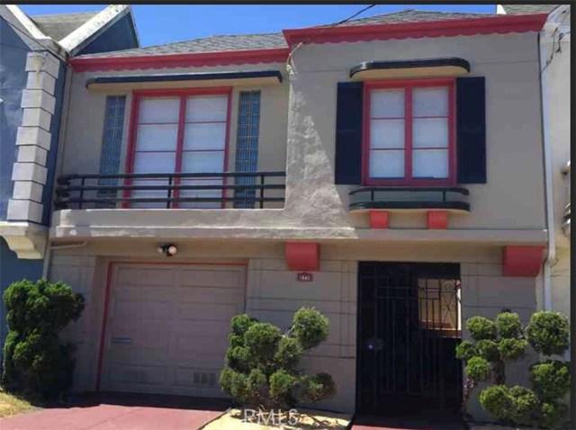 1843 35th Avenue, San Francisco, CA 94122