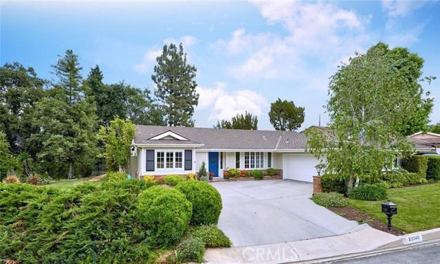 22340 Algunas Road, Woodland Hills, CA 91364