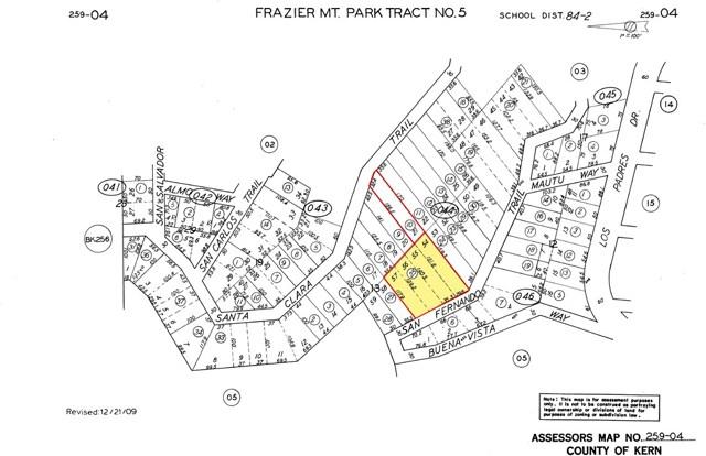 26297 San Fernando Trail, Frazier Park, CA 93225