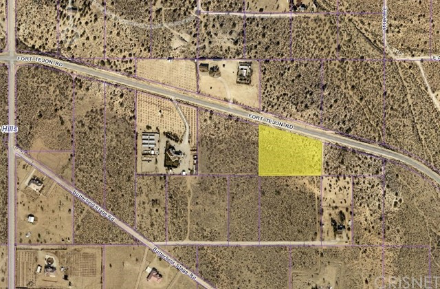 0 Fort Tejon Rd east of 106th St East, Juniper Hills, CA 93553