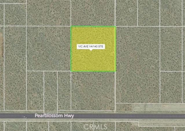 14100 Vac/Vic Avenue V4/140 Ste, Pearblossom, CA 93553