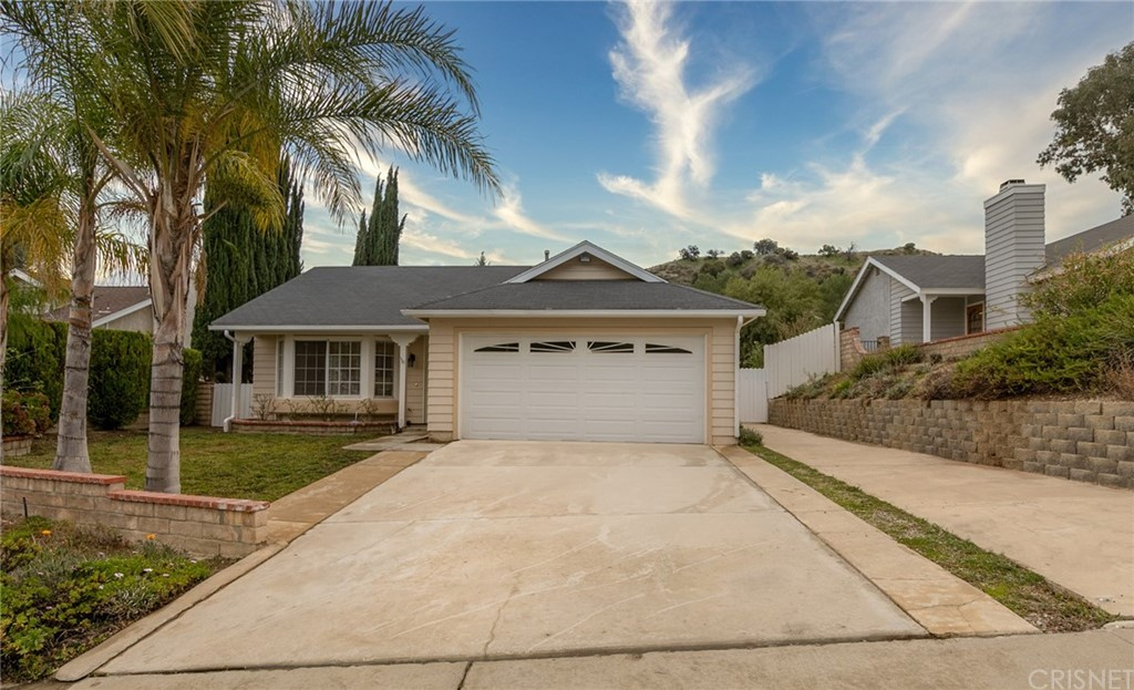 AMAZING OPPORTUNITY. 3 beds/ 2baths single-story home in move-in condition.with over 1200 SQFT. NO HOA and NO MELLO ROOS. This home offers a bright and open living room with recess lighting and high ceilings. The family room has a brick fireplace and opens up to a large patio area The kitchen has beautiful quartz countertops and new stainless steel sink. New carpet throughout. The master room offers a walk-in closet and a sliding door to access the large private backyard. There is 2 car garage plus plenty of space for a small RV or boat to park on the side. This home is conveniently located with easy freeway access, perfect to commute and minutes away to Castaic Lake and the Sports Recreational Center. Great community with good-rated schools including the new Castaic High School. More photos coming soon.