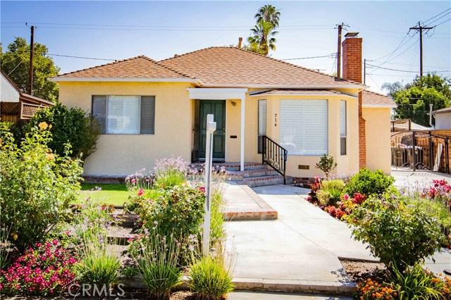 714 N Griffith Park Drive, Burbank, CA 91506