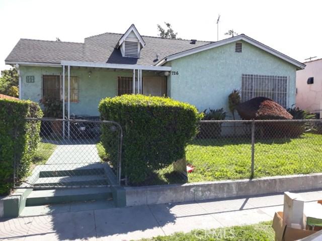 726 W 73rd Street, Los Angeles, CA 90044