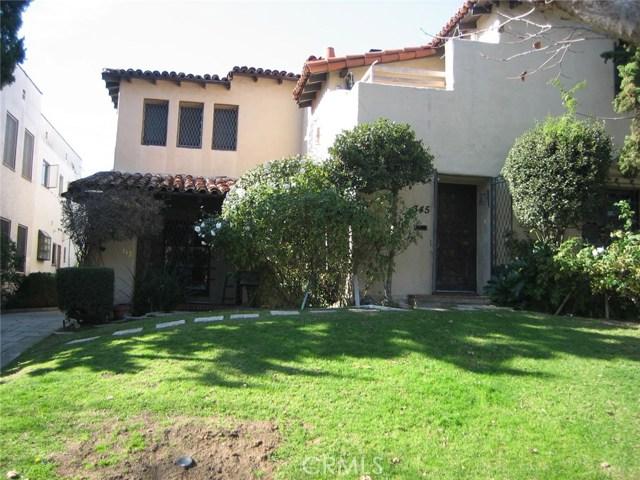 343 N Orange Drive, Los Angeles, CA 90036
