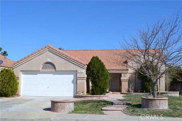 1433 Ridgecrest Court, Rosamond, CA 93560